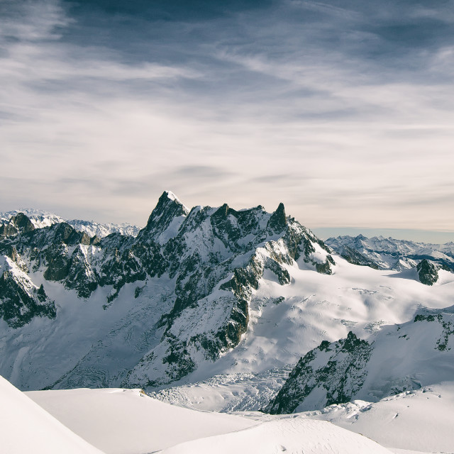 """The Mt. Blanc"" stock image"