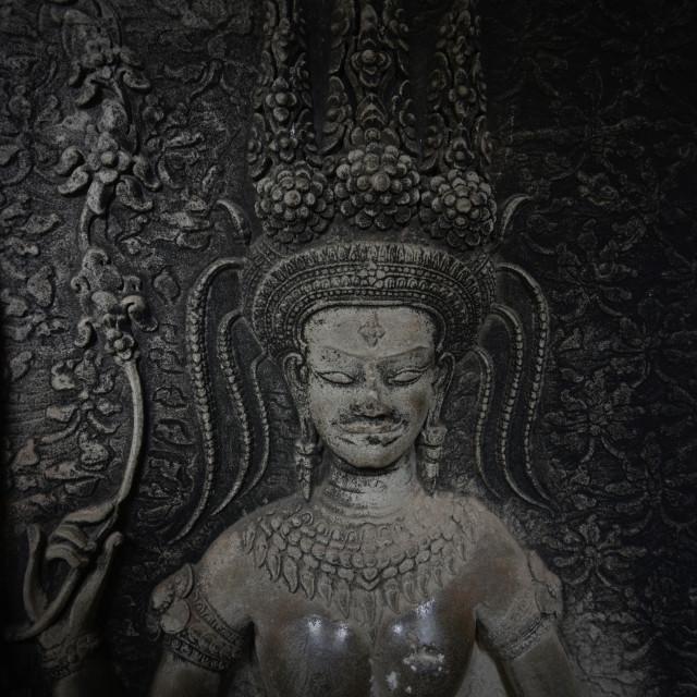 """CAMBODIA SIEM REAP ANGKOR WAT TEMPLE"" stock image"