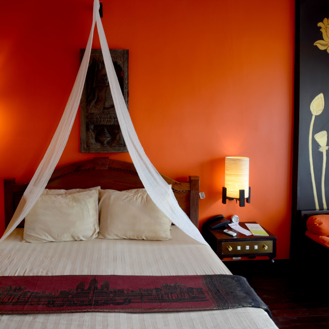 """""""CAMBODIA SIEM REAP HOTEL GUESTHOUSE"""" stock image"""