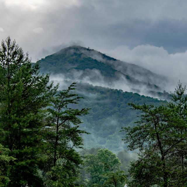 """""""Smoky Mountain"""" stock image"""