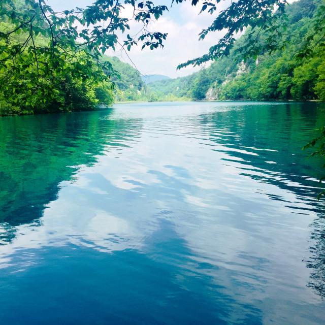 """Plitvice Lakes, Croatia"" stock image"