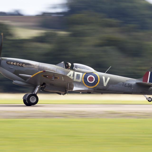 """""""RAF Spitfire"""" stock image"""