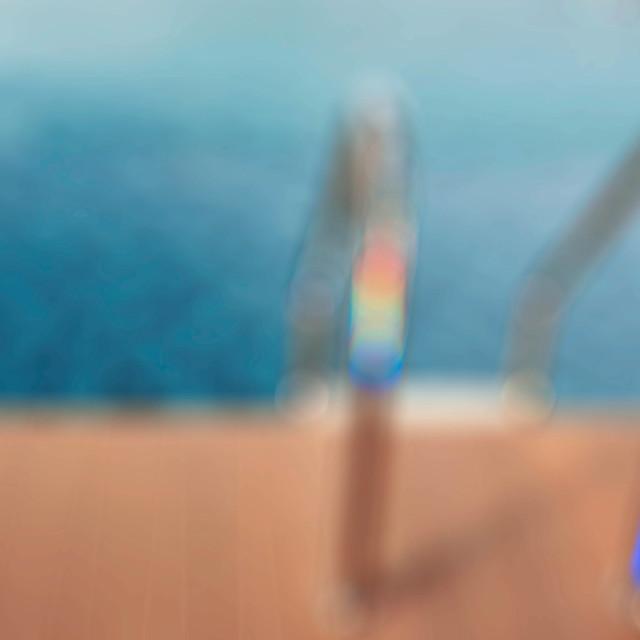 """railing of pool."" stock image"