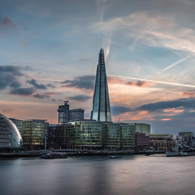 """London CityHall & the Shard"" stock image"