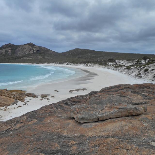 """Lucky Bay,Western Australia"" stock image"
