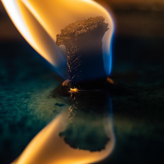 """Light/Dark Fluid/Solid Yellow/Blue"" stock image"