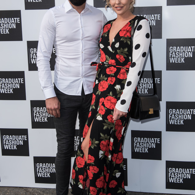 """""""Talent arriver at the Graduate Fashion Week 2018"""" stock image"""
