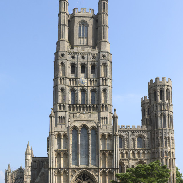 """Ely Cathedral"" stock image"
