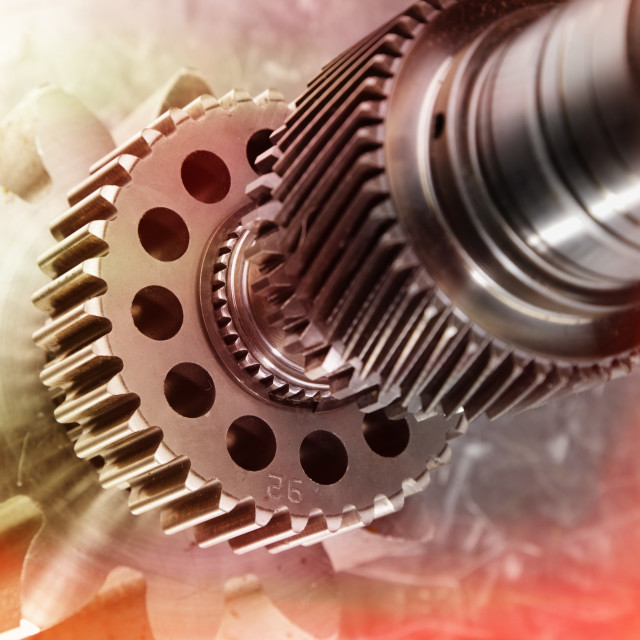 """Cogs and gears"" stock image"