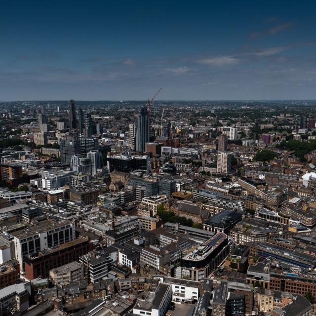"""London Cityscape"" stock image"