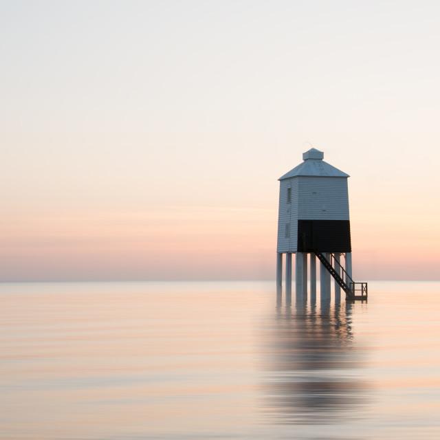 """Burnham on Sea Lighthouse"" stock image"