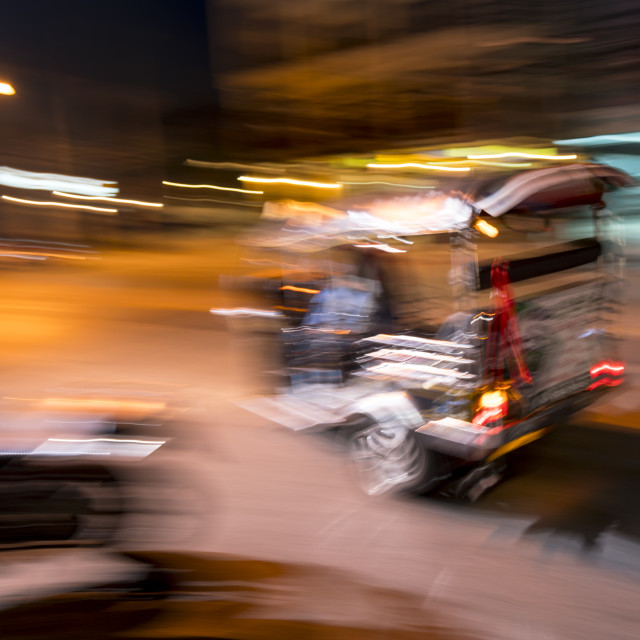 """Tuk-tuk taxi"" stock image"
