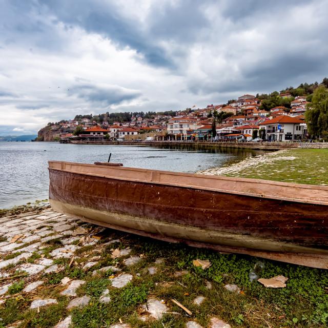 """Ohrid view"" stock image"