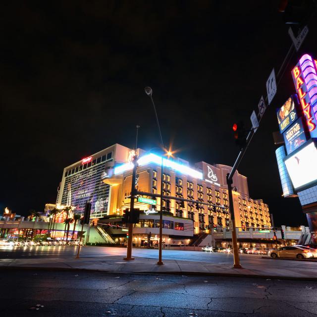 """Flamingo Resort and Casino in Las Vegas."" stock image"