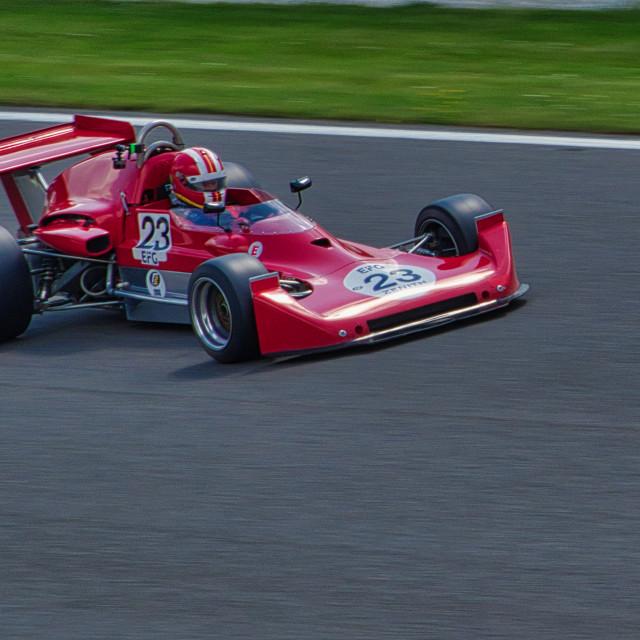 """Lola T360 at Spa Classic"" stock image"