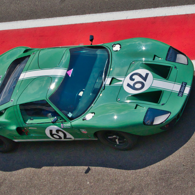 """""""Ford GT40 at the Spa Classic"""" stock image"""