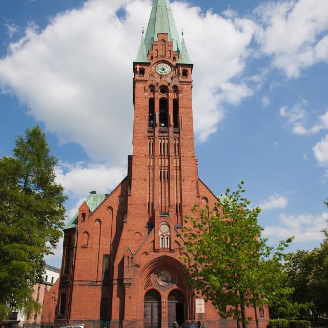 """Church of St. Andrew Bobola in Bydgoszcz"" stock image"