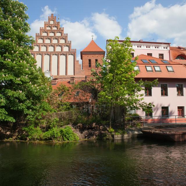 """""""Bydgoszcz Cityscape"""" stock image"""