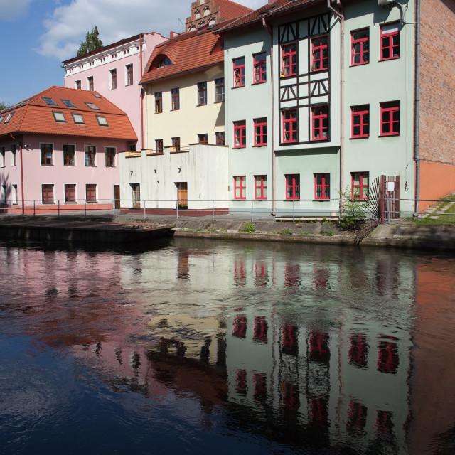 """City of Bydgoszcz in Poland"" stock image"