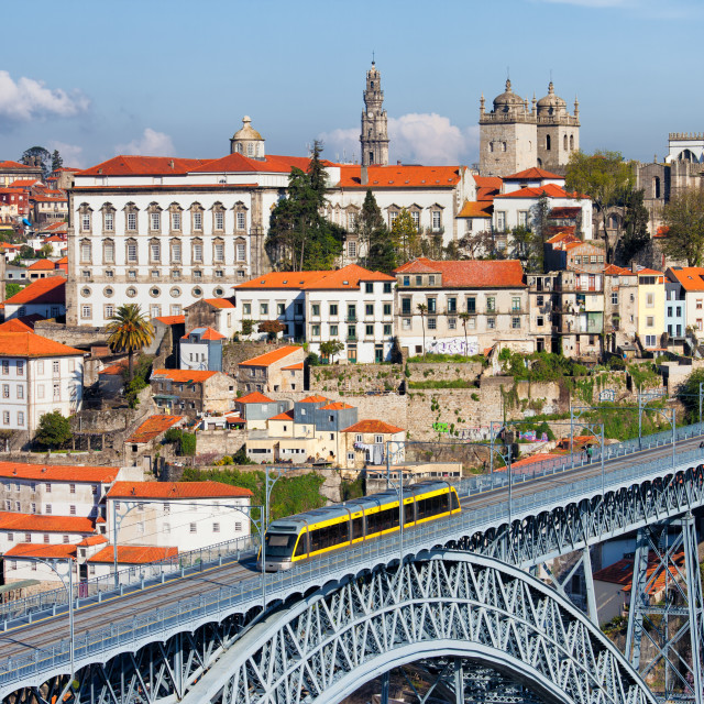 """City of Porto in Portugal"" stock image"