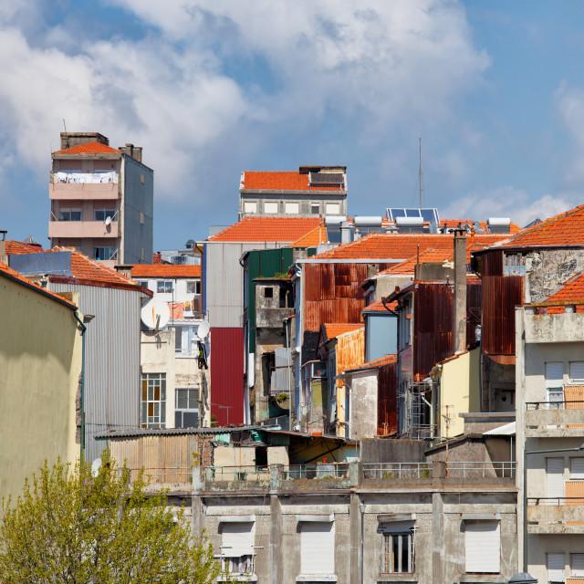 """Residential Architecture in Porto"" stock image"