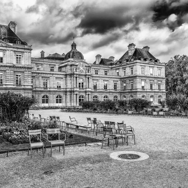 """Palais du Luxembourg"" stock image"