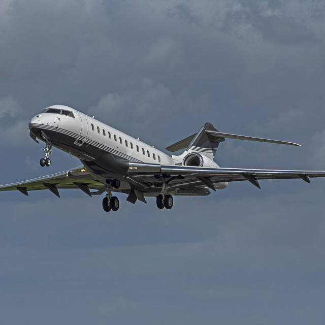 """Bombardier Global Express"" stock image"