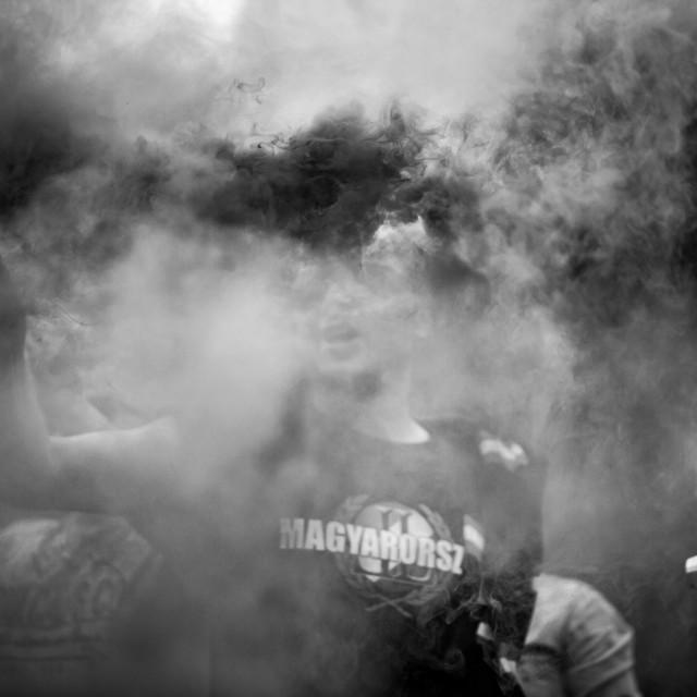 """Smoke Bomb 1"" stock image"
