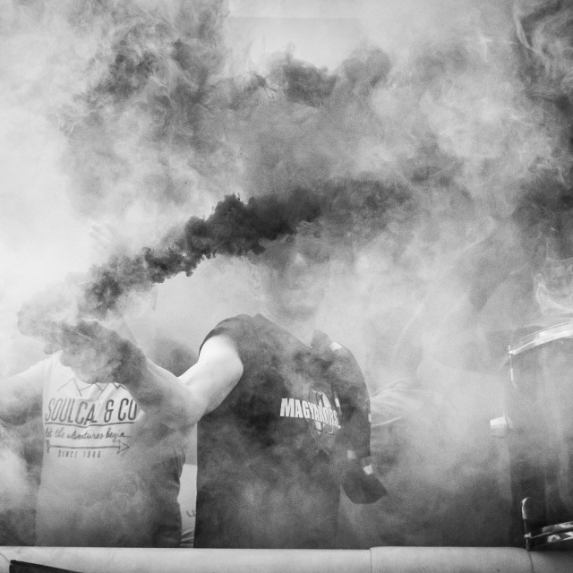 """Smoke Bomb 2"" stock image"