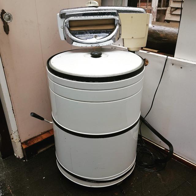 """""""Wringer washer"""" stock image"""
