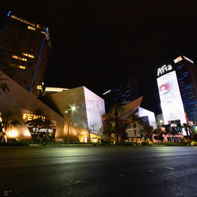 """""""Aria Resort and Casino in Las Vegas."""" stock image"""