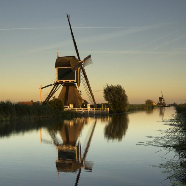 """""""Windmill the Gelkenesmolen"""" stock image"""