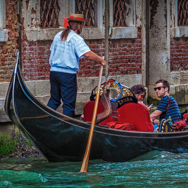 """Romantic Venice"" stock image"