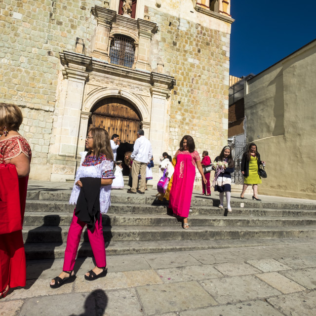 """People in Oaxaca"" stock image"