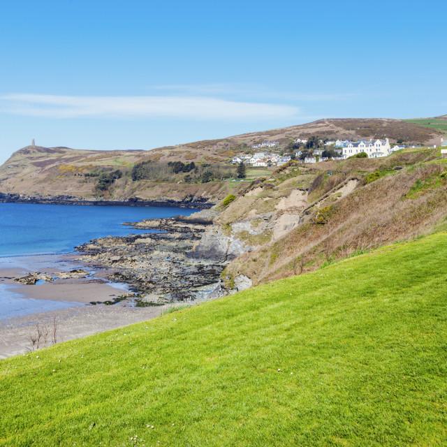 """Port Erin on the Isle of Man"" stock image"
