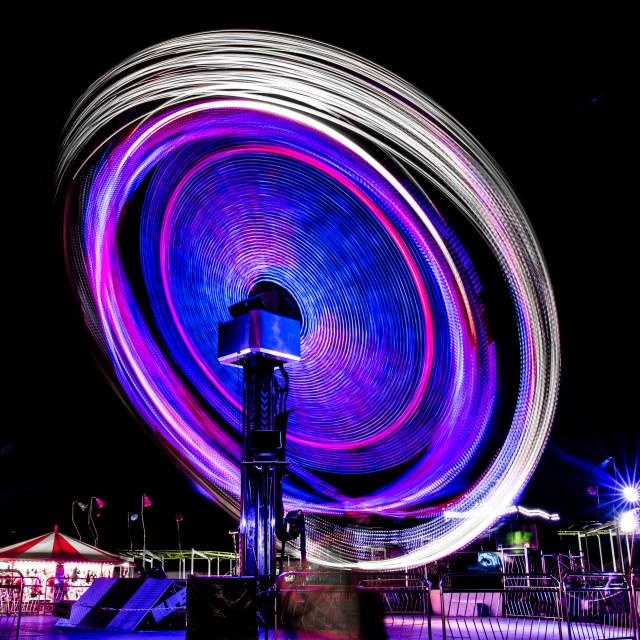 """Fairground Fun! (2)"" stock image"