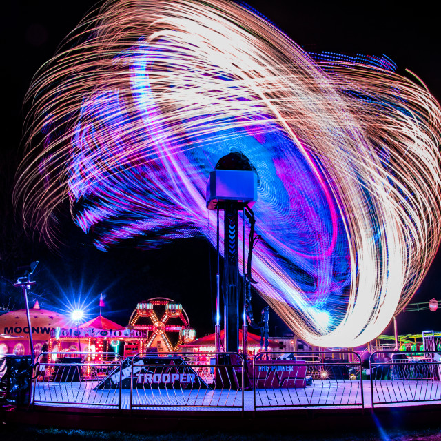 """Fairground Fun! (3)"" stock image"