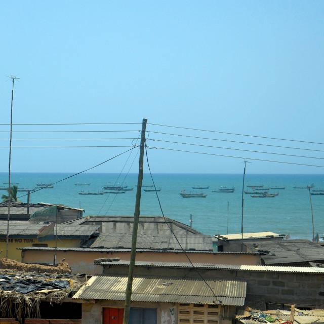 """""""Poverty In Ghana"""" stock image"""