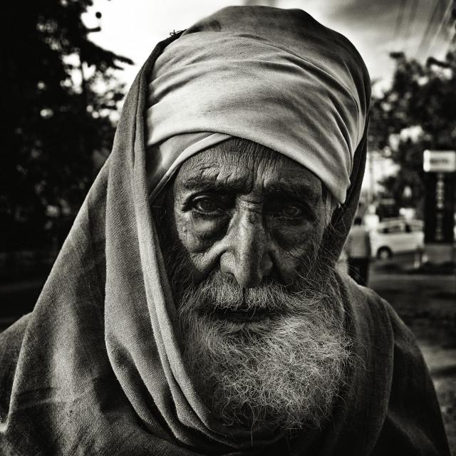 """A Sadhu Portrait"" stock image"