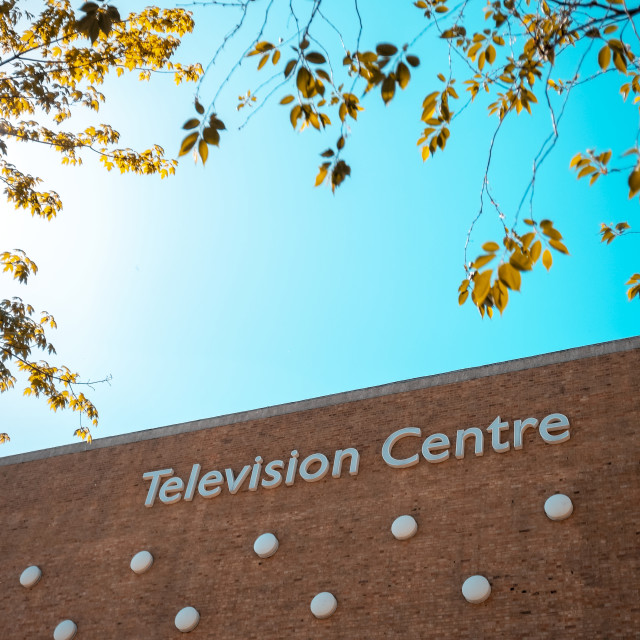 """Television Centre in Shepherd's Bush, London"" stock image"