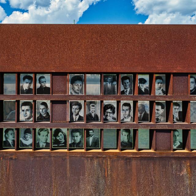 """""""Berlin Wall Memorial"""" stock image"""