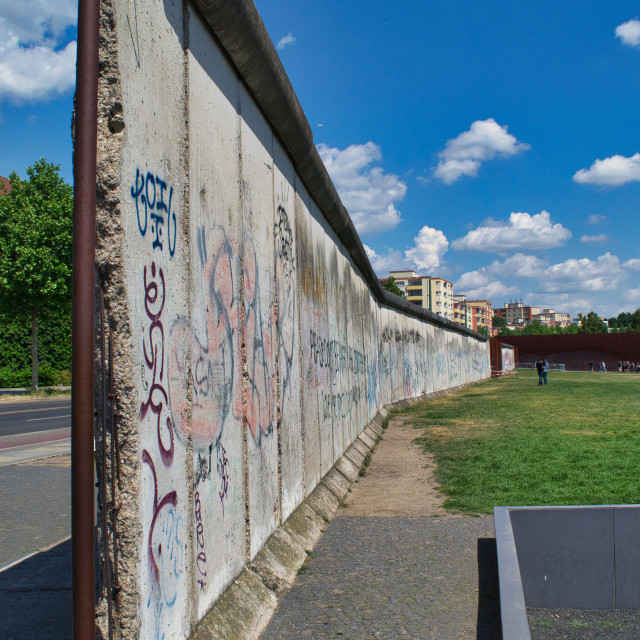 """Berlin Wall"" stock image"