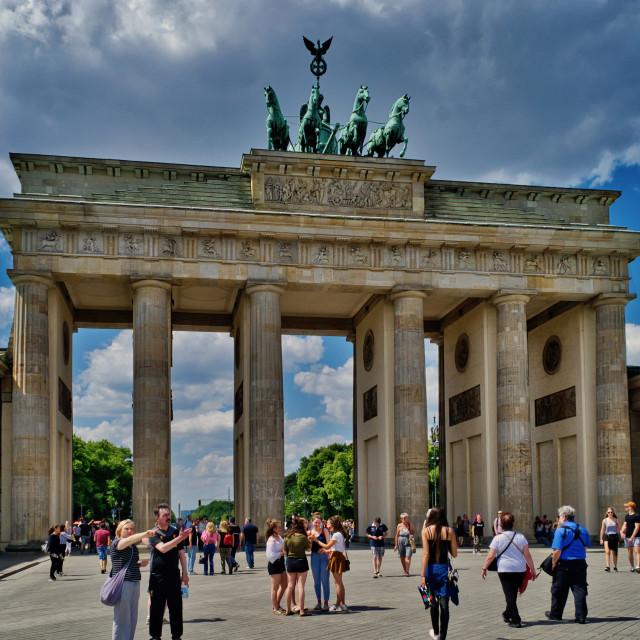 """Brandenburg Gate"" stock image"