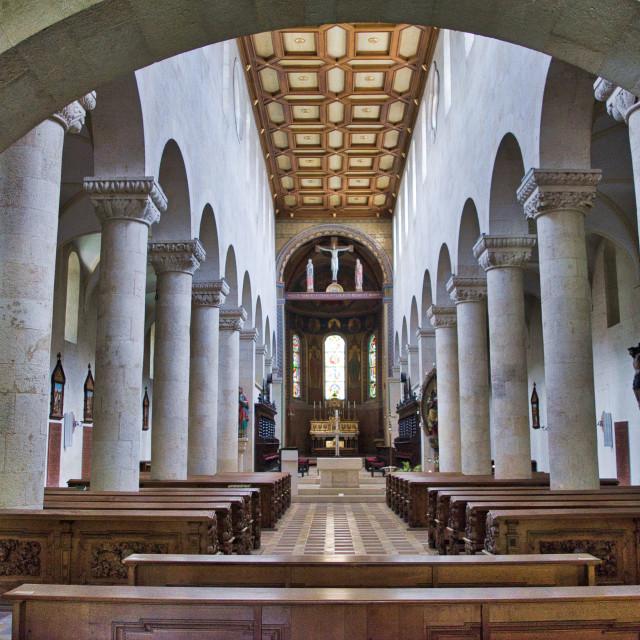 """Schottenkirche St Jakob, Regensburg"" stock image"