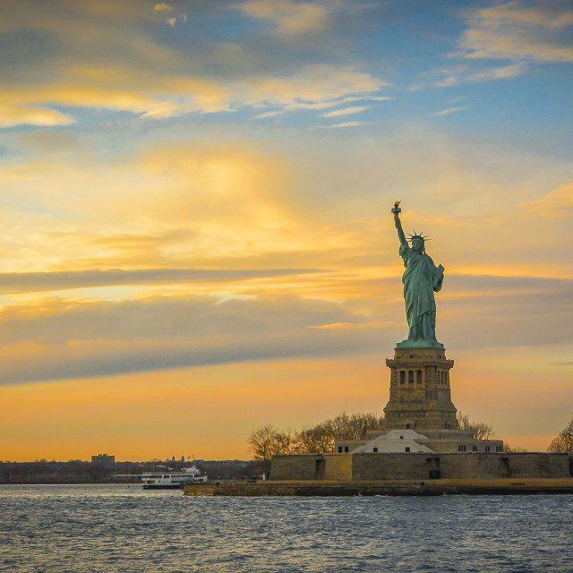 """Statue of Liberty New York"" stock image"