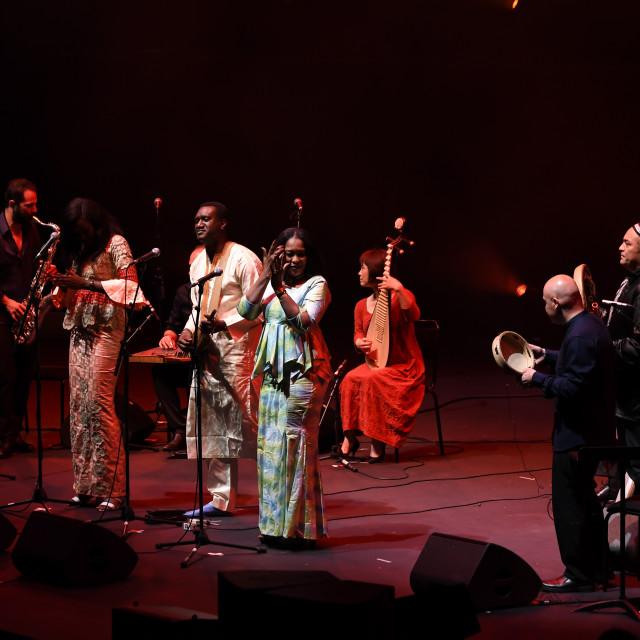 """""""Jubilee - Aga Khan Music Initiative at the Royal Albert Hall, London, UK"""" stock image"""