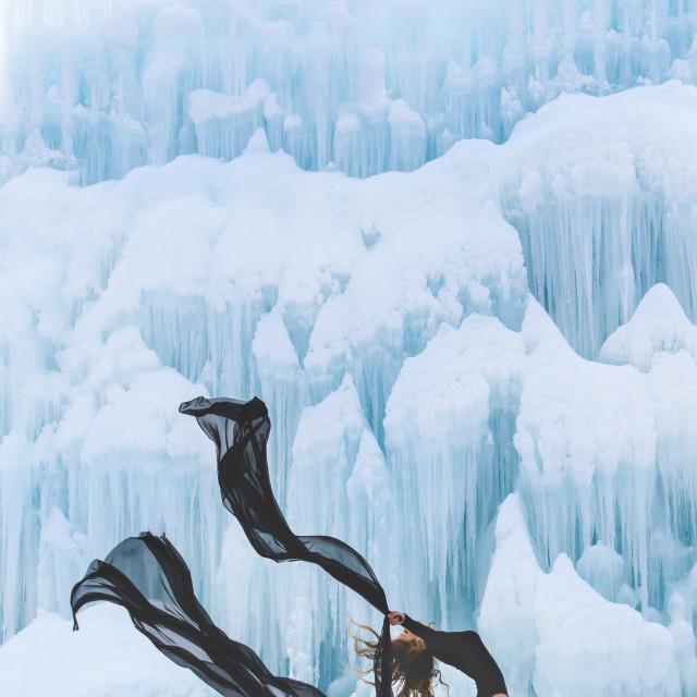 """Ice dancer"" stock image"