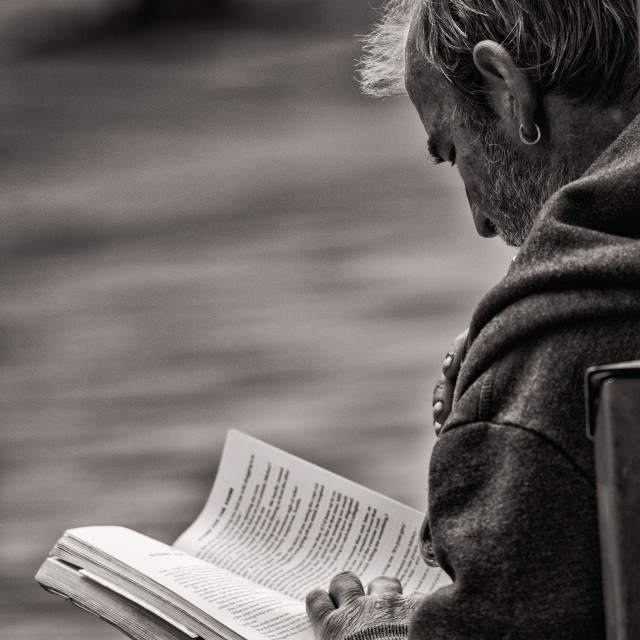 """The Reader Glasgow"" stock image"