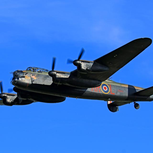"""AVRO Lancaster PA474"" stock image"