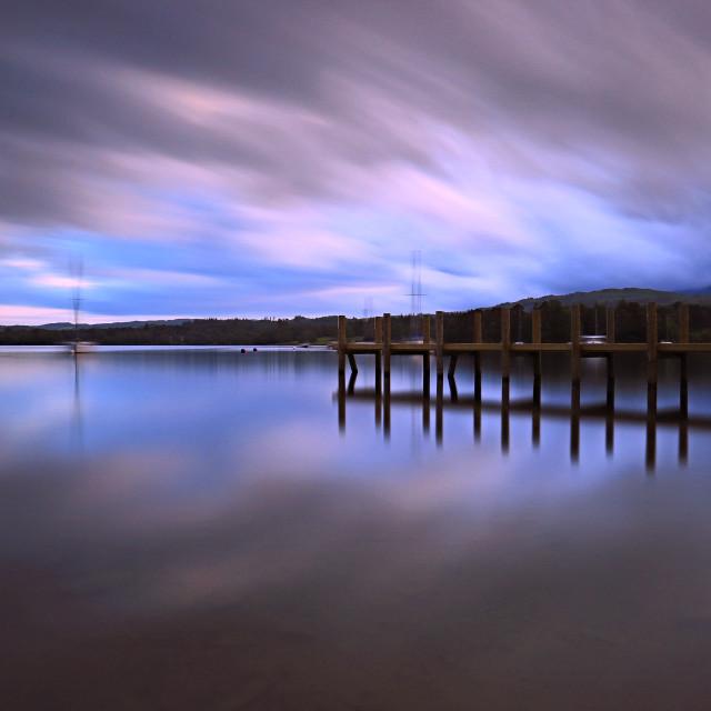 """Lake Windermere"" stock image"